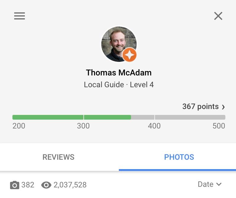 Tom McAdam Google Local