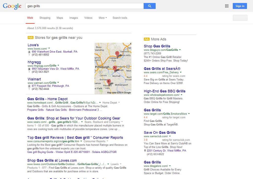 google-testing-100percent-paid-listings